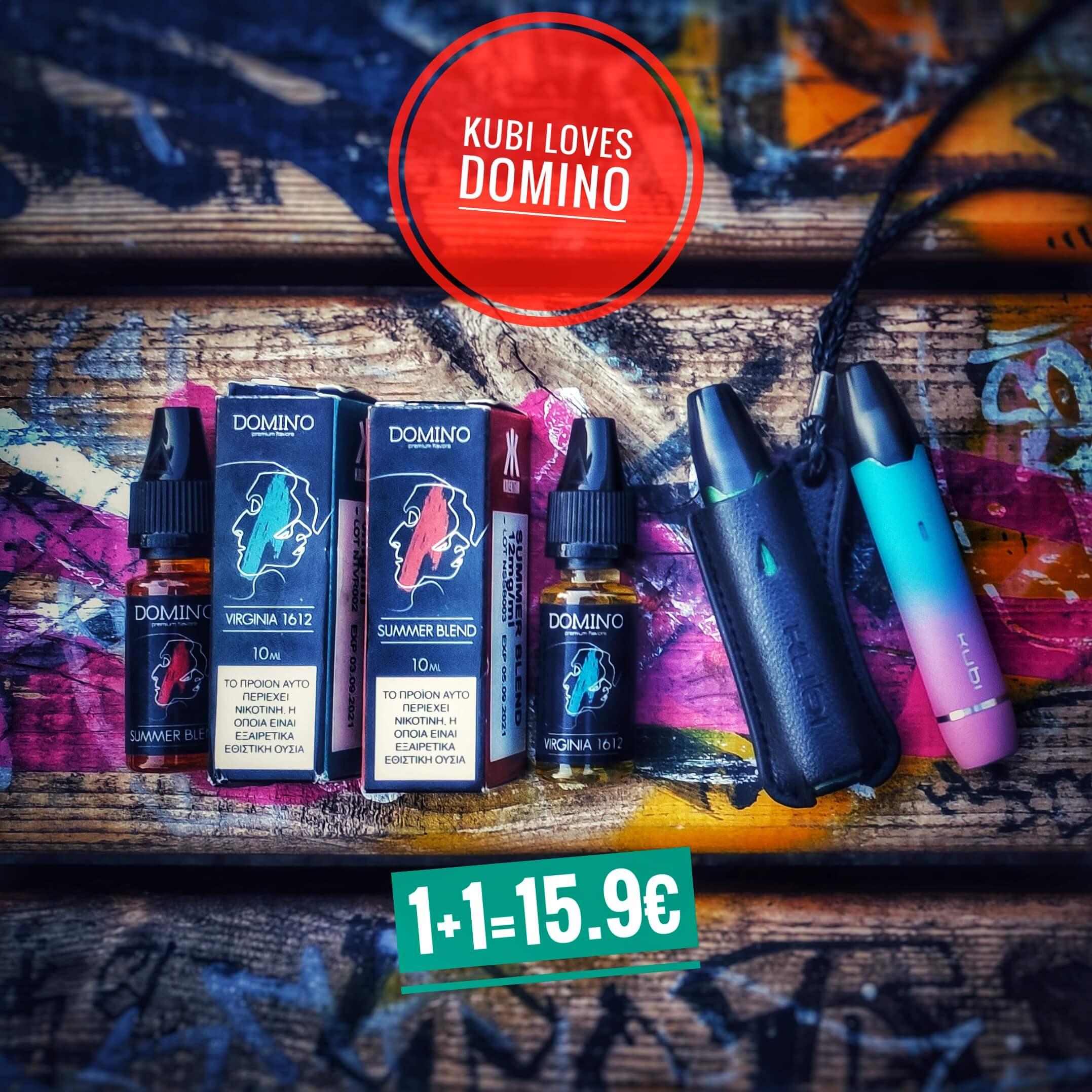 Hotcig Kubi - Domino Liquids